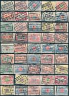 _5Sb-874 : Restje Van 45 Verschillende Zegels: Waarden Of Stempels GENT- GAND ....van De Uitgifte 1902-14 - 1895-1913