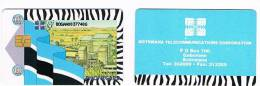 BOTSWANA -  BTC (CHIP) - FACTORY - USED  -  RIF. 354 - Botswana