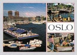 OSLO - Mehrbilderkarte 1995 Sondermarke - Norwegen