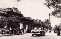 Russischer Stadt - Belebte Strassenansicht, Fotokarte, 3 Kon Frank., Gel.1963 - Russland