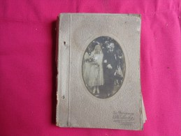 Album De Photos Mariage Photographe La Parisienne R.lohy Paris- --belle Toilette-chapeau)epoque A Identifier - Personnes Anonymes