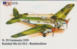AIRPLANE - ITALY - FIAT C.R. 25 - BOMBARDIERE - MILITARY - ARMY - Avions