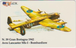 AIRPLANE - ITALY - N. 39 - BOMBARDIERE - MILITARY - ARMY - Airplanes