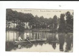 71 Chauffailles étang Du Chateau BF Paris 11circulé 1917 Animée - Francia