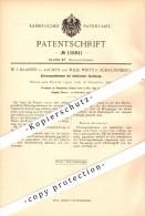 Original Patent - W.J. Maasen In Aachen Und W. Wirtz In Schaufenberg / Alsdorf , 1899 , Elektrische Schwungradbremse !!! - Documents Historiques