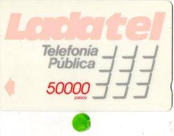 TELECARTE MAGNETIQUE  MEXIQUE  50000 Pesos  Ladatel - Messico