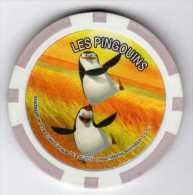 Jeton De Casino : Série CORA 11/24 : Les Pingouins : Force 24 Amitié 66 - Casino