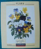 PUZZLE NATHAN De 500  Pièces Bouquet De Pensées - Puzzles
