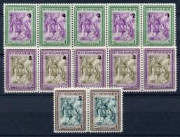 -SAN MARINO 1947  BENEFICENZA -STRISCE S.62  MNH** - Unused Stamps