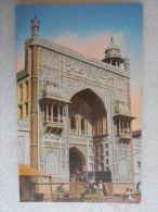 Cpa  West Pakistan - Gateway Of Wazir Khan Mosque  -  LAHONE , PAK  - Mosquée - Pakistan