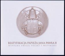 """2011 POLONIA """"BEATIFICAZIONE GIOVANNI PAOLO II"""" FOLDER - Booklets"""