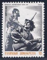 Greece, Scott # 1440 Used National Resistance Movement, 1982 - Greece