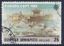 Greece, Scott # 1459 Used Europa, 1983 - Greece