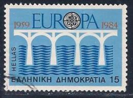 Greece, Scott # 1493 Used Europa, 1984 - Greece