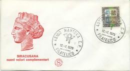 ITALIA - FDC FILAGRANO 1979 - ALTI VALORI - LIRE 4.000 - 6. 1946-.. Repubblica