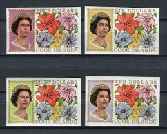 Cook Islands 1968. Yvert 179-81. Imperforated ** MNH. - Cook Islands