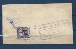 Briefstukje Diario Del Salvador Adminstracion (GA5964) - Salvador