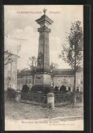 CPA Rambervillers, Monument Du Général Richard - Rambervillers