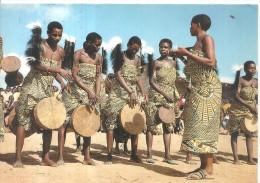 TANZANIA -HOMBOLO,WAGOGO WOMEN DANCING.-VIAGGIATA - 1982.E520 - Danze
