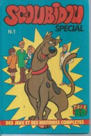 SCOUBIDOU Spécial  N° 1  -  EUREDIF 1983 ( édition Cartonnée ) - Piccoli Formati