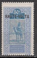 Upper Volta   Scott No   21    Unused Hinged    Year  1920 - Ungebraucht