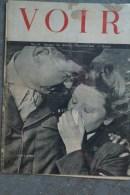GUERRE 1939-1945- REVUE VOIR N° 34- POSTDAM 1945- STALINE TRUMAN- ROOSEVELT-CONFERENCE SAN FRANCISCO- 14 JUILLET PARIS - Books, Magazines, Comics