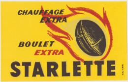 STARLETTE Boulet Extra Chauffage Extra - Buvards, Protège-cahiers Illustrés