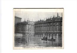 PARIS INONDE (1910) ARRIVEE DES DEPUTES A LA CHAMBRE REF 43767