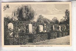 0-4000 HALLE / Saale, Südfriedhof, Rabattengräber Im Neuen Teil - Halle (Saale)