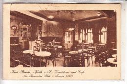0-4000 HALLE / Saale, Cafe Binder, 1929 - Halle (Saale)