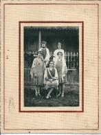18 LA GUERCHE  Sur  L AUBOIS -  Les Reines De 1928  Melle  Dureau ,  Photo 21 X 27 - La Guerche Sur L'Aubois