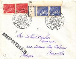 Salon De La Marine - Bateaux - France - Imprimé De 1943 - Oblitération Paris - Avec Censure - Storia Postale