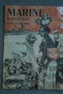 REVUE MARINE NATIONALE MER ET OUTRE MER- ILLUSTRATEUR F. LANTOINE- LARGAGE DES MINES-TOULON A SAIGON- - Books, Magazines, Comics