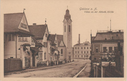 AK Jablonec Gablonz Neisse Villen Altkatholische Kirche Bei Reichenberg Liberec Tannwald Kukan Wiesenthal Grottau - Sudeten