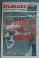 REVUE  MINUTE- N° 110- 8 MAI 1964- MAURIAC-PEYREFITTE- MORT KENNEDY- - Politica