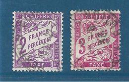 France Timbre Taxe De 1893/1935  N°42 Et 42A  Oblitérés - Postage Due