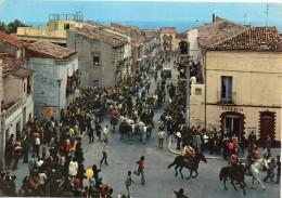 Molise-campobasso-ururi Veduta Tradizionale Corsa Dei Carri (3 Maggio) - Italia