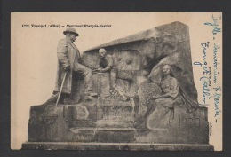 DF / 03 ALLIER / TRONGET / MONUMENT FRANÇOIS-MERCIER / CIRCULÉE EN 1930 - France