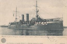 MARINILIA DE GUERRA PORTUGUEZA -  N° 735 - COURACADO VASCO DE GAMA (BATEAU DE GUERRE PORTUGAIS) - Sonstige