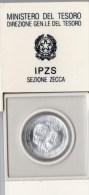 PIA - ITALIA - 1985 : Moneta Da £ 500 In Astuccio - Edizione Zecca - 1946-… : Repubblica