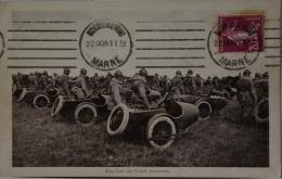 CPA Side-cars Des Unités Motorisées - MILITAIRE  (Ca 1075) - Weltkrieg 1914-18