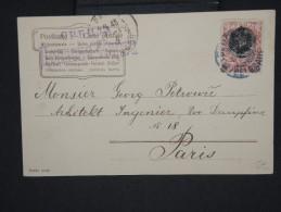 SERBIE- CP Voyagée En 1904 Pour Paris  à Voir     P5987 - Serbie