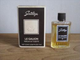 MINIATURE DE PARFUM SORTILEGE DE LE GALION PARFUM DE TOILETTE 9ML. - Miniatures Modernes (à Partir De 1961)