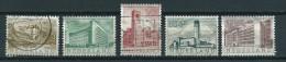 1955 Netherlands Complete Set Summer Welfare,zomerzegels Used/gebruikt/oblitere - Periode 1949-1980 (Juliana)