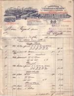 ALLEMAGNE - ANNWEILER - USTENSILES EN FER BATTU EMAILLES OU ETAMES - EMAILLERIE ANNWEILER , FRANCOIS ULLRICH FILS - 1911 - 1900 – 1949
