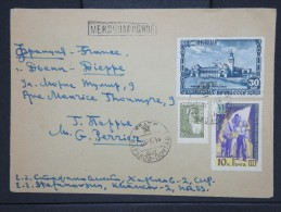 RUSSIE-Enveloppe  Pour Dieppe En 1957  Affranchissement Plaisant    à Voir P5993 - 1923-1991 URSS