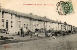 55  FROMEREVILLE            La Grande Rue - France