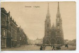 OH/Oostende, Ostende, Ostend, Ca 1905, Eglise, Geanimeerd, Animée - Oostende