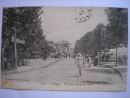 13 - CPA - MARSEILLE - L'Estaque - Entrée Coté Du Rio-Tinto - Belle Carte ANIMEE Peu Commune - L'Estaque
