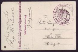 SERBIA 1916 MILITARY POSTCARD - GERMANY/AUSTRIA - Serbia